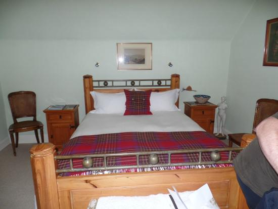 Braeriach Guest House: Our comfy Bed