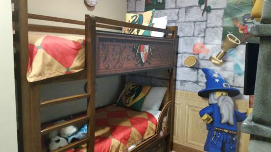 Bunk Beds And Hide A Bed Underneath Picture Of Legoland
