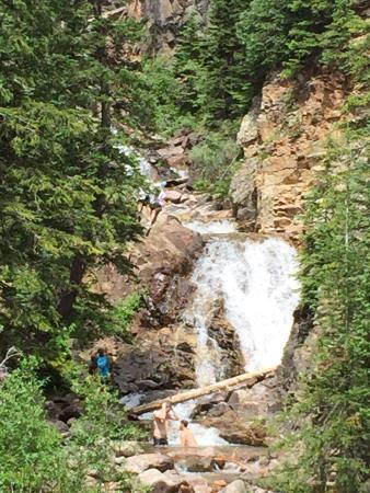 Vail, CO: The falls