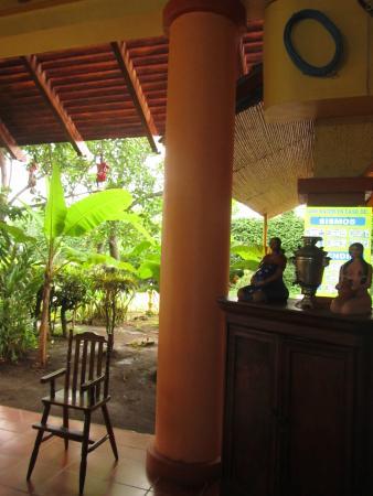 Nindiri, Nicaragua: Surrounded by tropical foliage