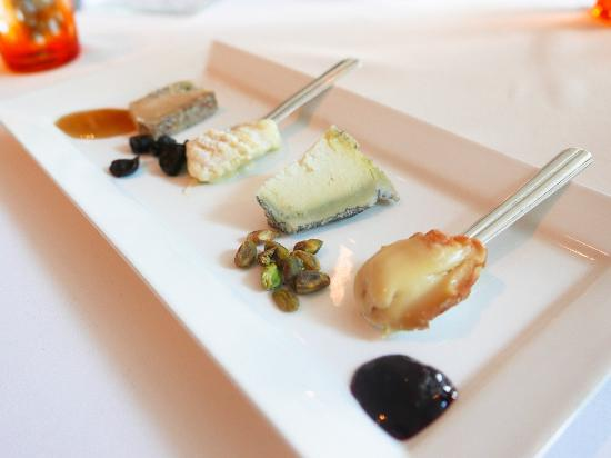 Patina Restaurant cheese plate! & cheese plate! - Picture of Patina Restaurant Los Angeles - TripAdvisor