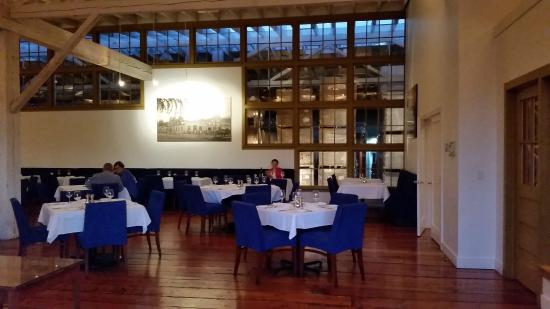 Whitehouse-Crawford Restaurant: A View from the Entrance to Our Table