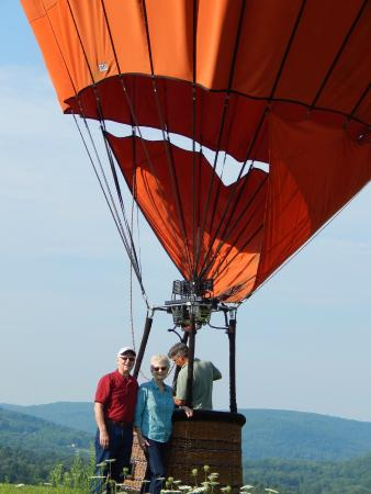 Balloons of Vermont - Private Flights: A great ride!