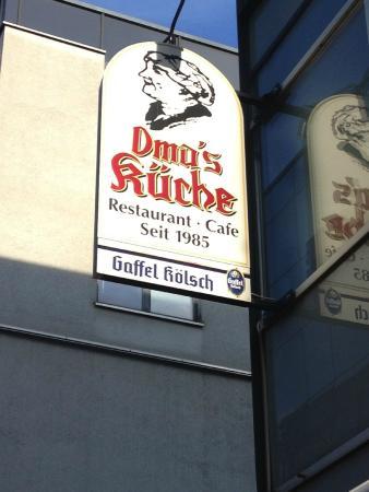 реклама - Bild von Oma\'s Küche, Köln - TripAdvisor