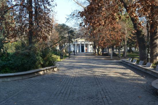 Parque Quinta Normal: Museu de Tencologia