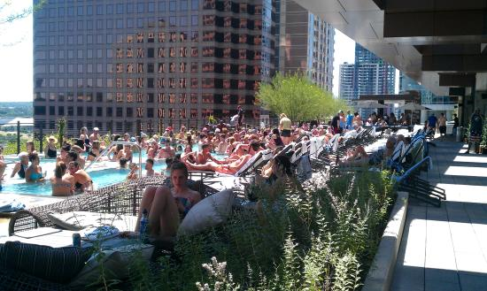 Great Rooftop Pool Picture Of Jw Marriott Austin