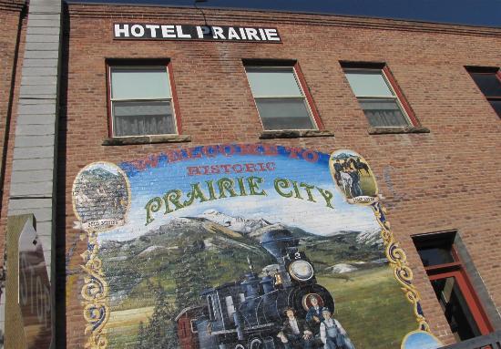 Prairie City, Oregón: Hotel Prairie Mural