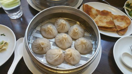 dim sum garden house specialty dumplings with soup inside - Dim Sum Garden Philadelphia