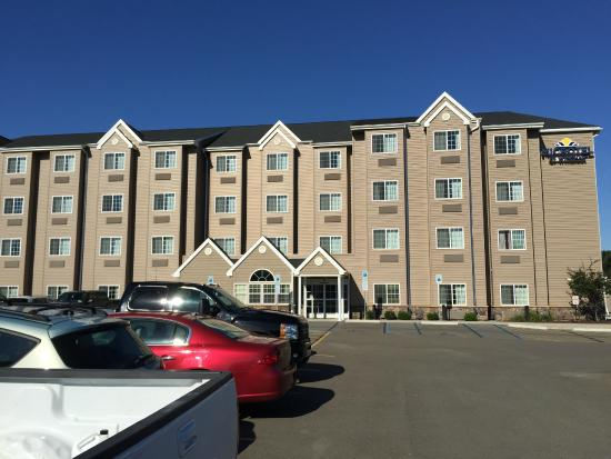 Microtel Inn & Suites by Wyndham Sayre: exterior front