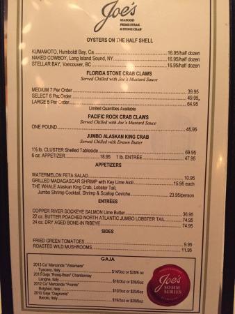 Joe's Seafood, Prime Steak & Stone Crab: photo4.jpg