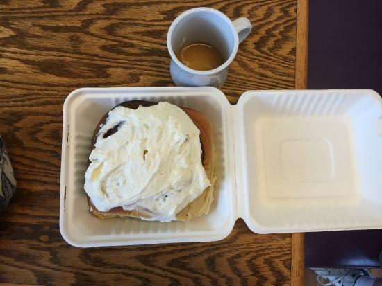 Warrenton, OR: A Cinnamon Role. HUGE!