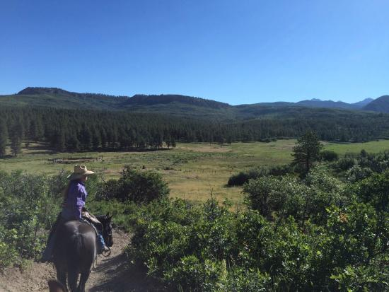 Rimrock Outfitters: Scenic spot on our ride