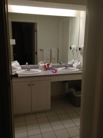 Black Bear Lodge: Bathroom