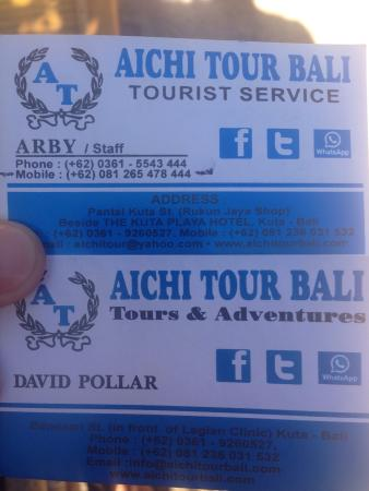 Aichi Tour Bali