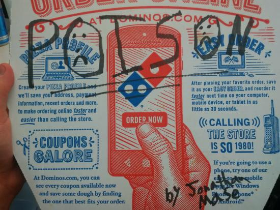 Domino's Pizza in Suffern (Jonathan Mase)