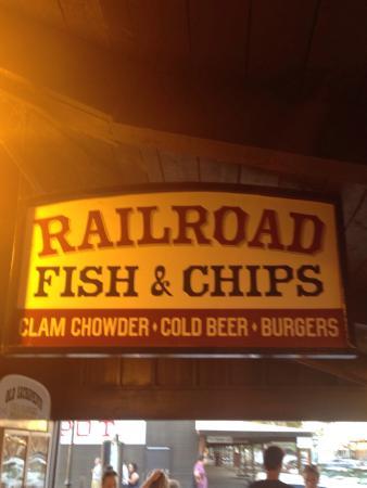 Railroad Fish & Chips