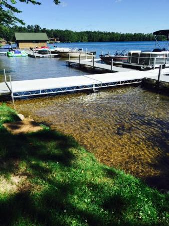 New boat docks - Picture of The Beacons of Minocqua