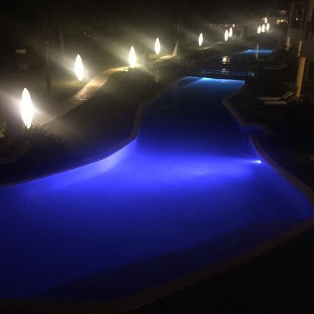 Zoetry Agua Punta Cana: Pool night view