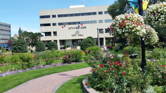 Image result for red deer city hall park