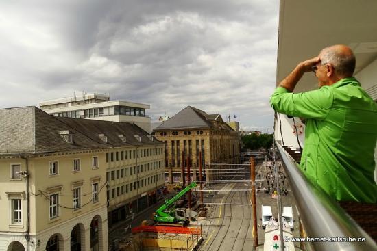 Dachterraaßesse Blick Auf Kaiserstr Bild Von Cafe Am Markt