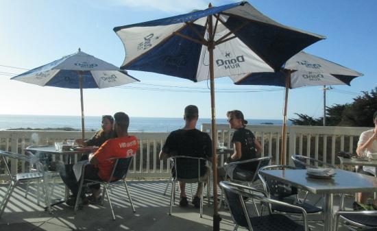 Patio Dining Pacific Ocean View Puerto 27 Pacifica Ca