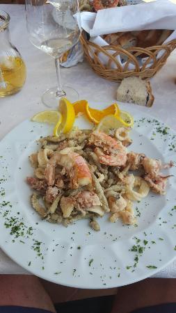 Slovenian Istria, Slovenien: La frittura!