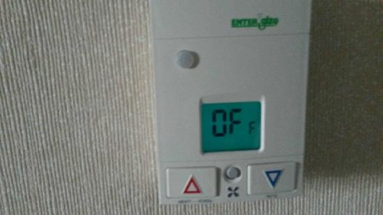 Surf City Inn & Suites: Thermostat not working