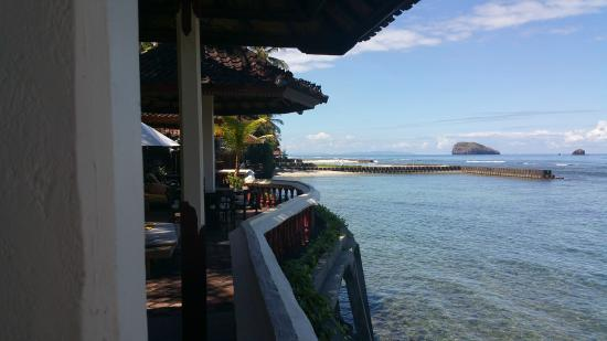 Pondok Bambu : View from the Hotel Restaurant