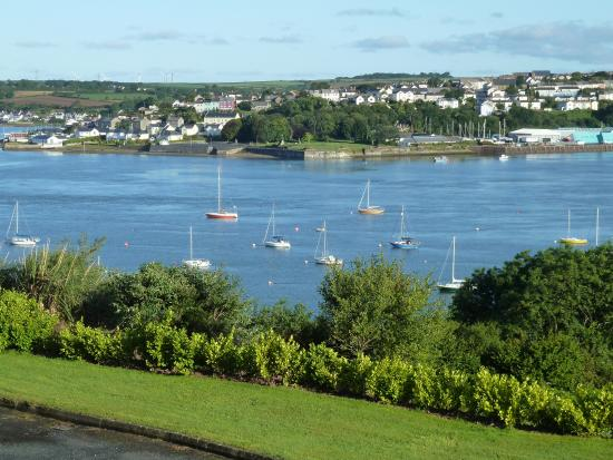 Cleddau Bridge Hotel: View from window