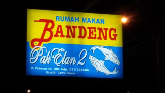 papan sign board rumah makan picture of pak elan ii