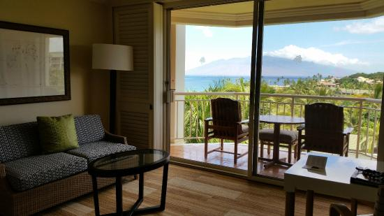 Grand Wailea - A Waldorf Astoria Resort: our actual room with great ocean views rm 7120 molokini wing