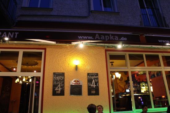 kv llsbild p aapka picture of aapka indian restaurant and lounge berlin tripadvisor. Black Bedroom Furniture Sets. Home Design Ideas