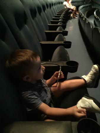 Simons IMAX Theatre at New England Aquarium : Theater Seating