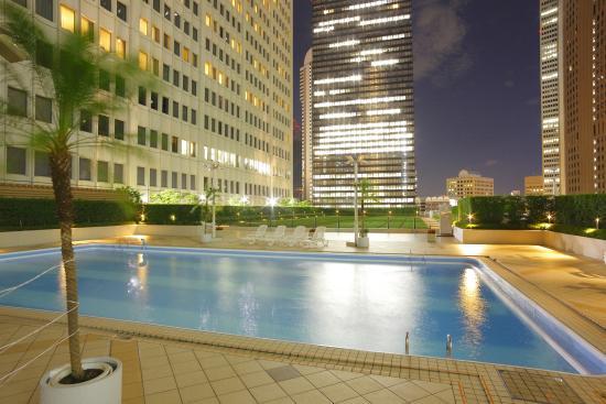 Keio Plaza Hotel Tokyo : Sky Pool