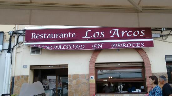 Los Arcos: L'enseigne du bâtiment vieux de 400 ans