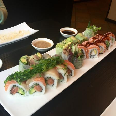 Sachi Sushi : Lidt blandet