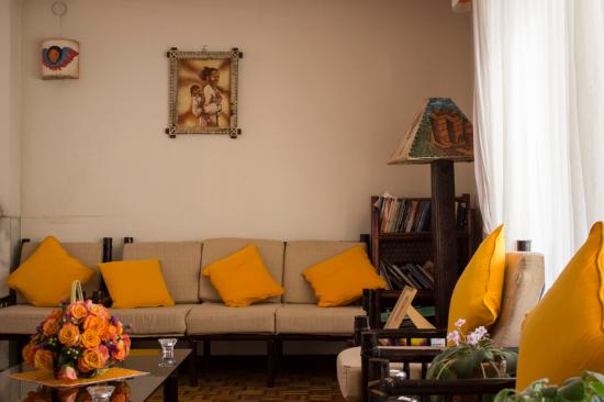 Biruk B&B Addis Ababa: Living room