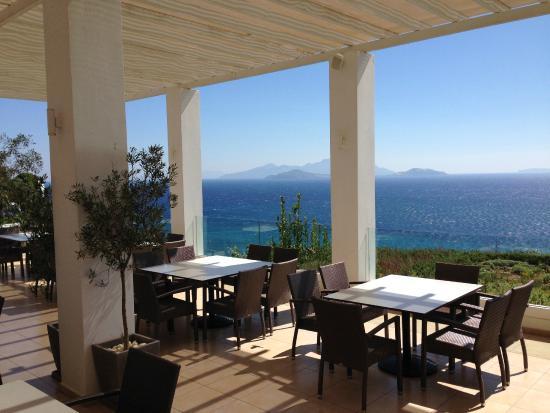 Robinson Club Daidalos: Ausblick von der Terrasse des Hauptrestaurants