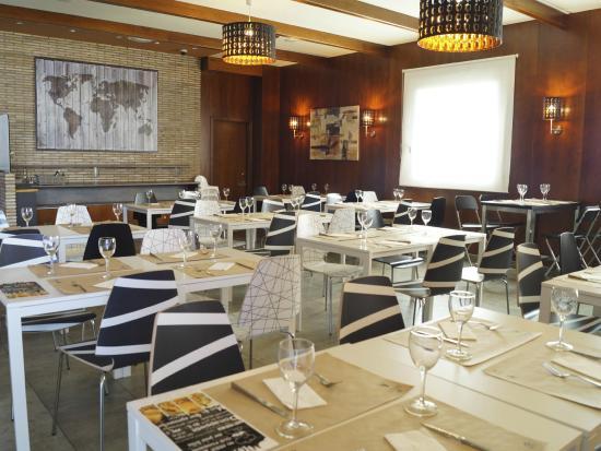 Salón comedor Restaurante Migas: fotografía de Spa Hotel Ciudad de ...