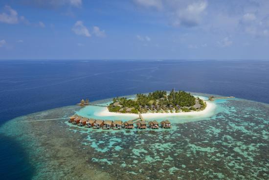 Nord Ari Atoll: Вид с sea-plane