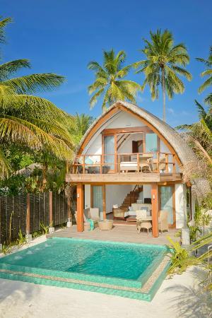 North Ari Atoll: Двухэтажный номер