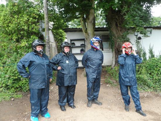 Exeter Segway Smiles Devon : Prepared for anything
