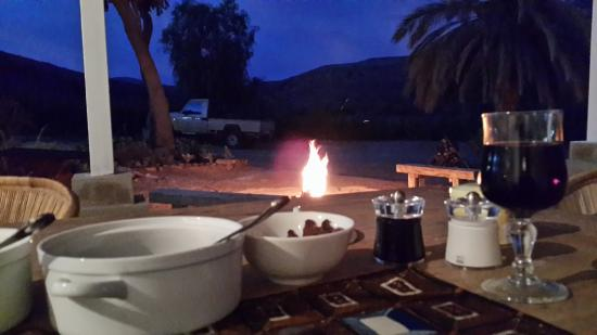 Somerset East, Южная Африка: Wonderful dinner