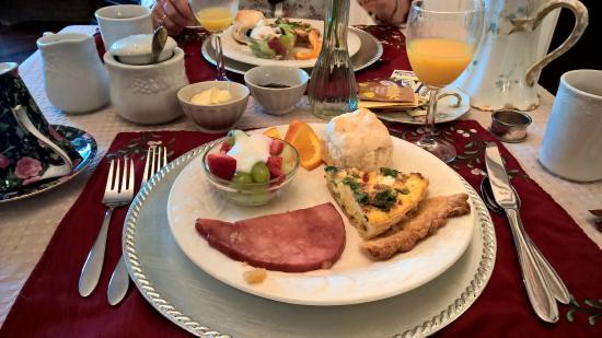 Samuel Guy House: petit déjeuner complet