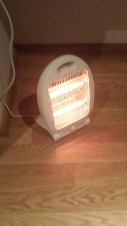 Hotel Villa de Betanzos: Única calefacción en pleno enero
