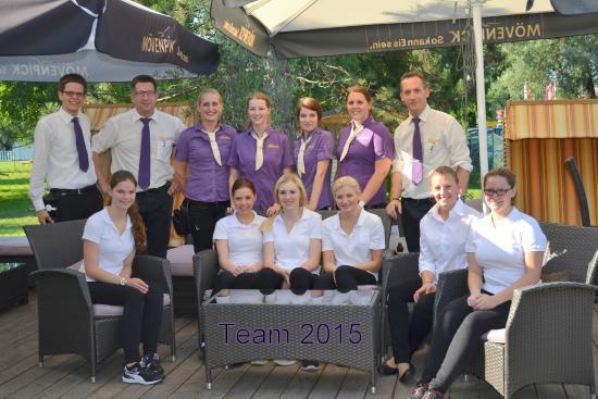 Unterburg am Klopeiner See, Austria: Unser Team 2015
