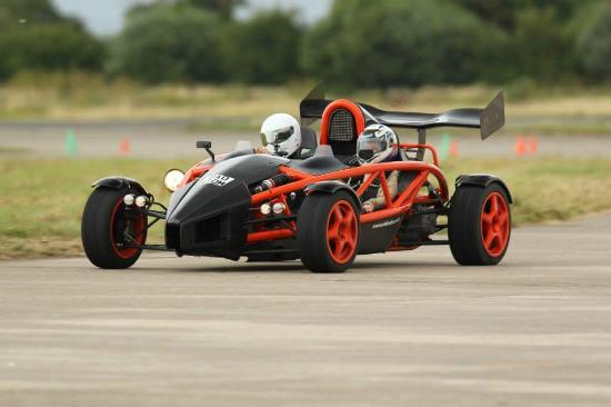 Ariel Atom high speed passenger ride - Picture of Everyman Racing ...