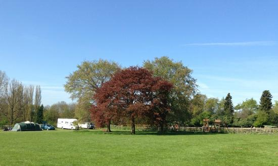 Sacrewell: Camping and caravanning