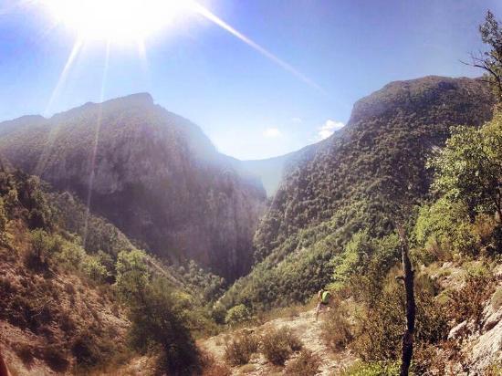 Bureau des Guides de Canyon : Panorama