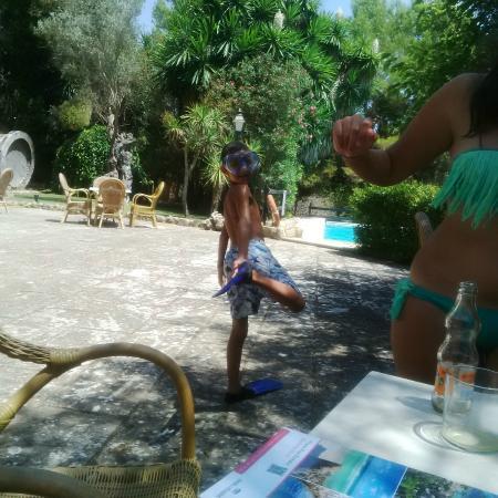 Petit Hotel Rural Son Jorda: En la piscina